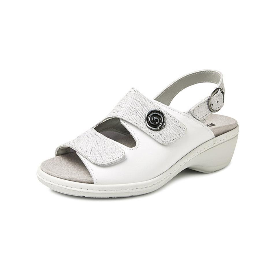 4977 Zilver Medische Sandalen Dames
