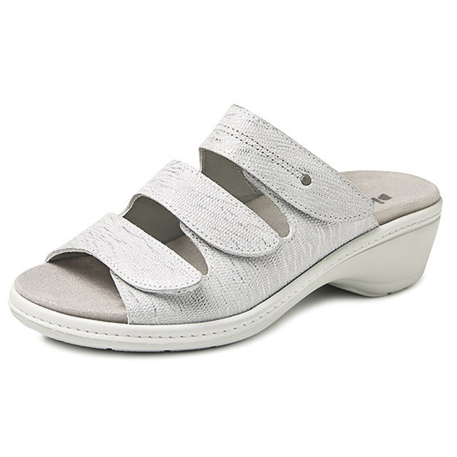 6327 Zilver Slippers Dames