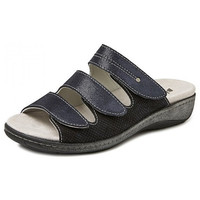 6614 Blauw Slippers Dames