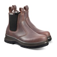 Chelsea Boot S3 Donkerbruin Werkschoenen Chelsea Boot S3 Donkerbruin Werklaarzen