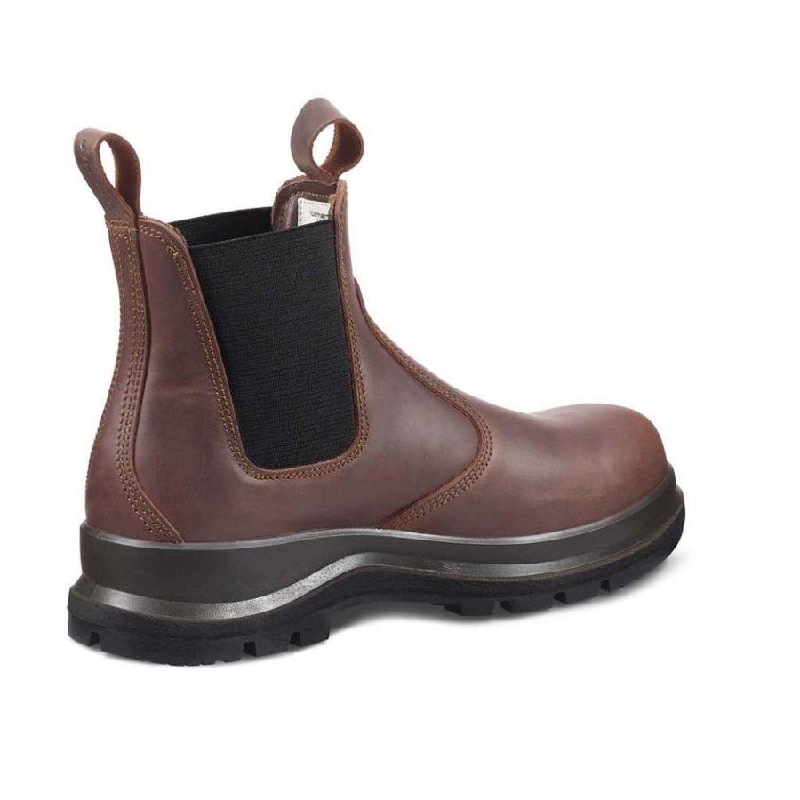 Chelsea Boot S3 Donkerbruin Werklaarzen Uniseks