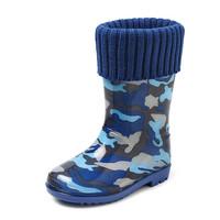 Gevavi Boots - Finn gevoerde kinderlaars blauw