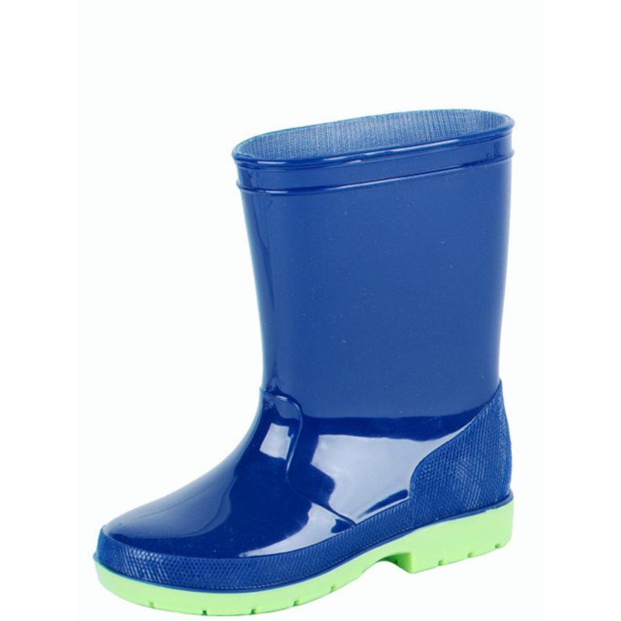 Luca kinderlaars pvc blauw