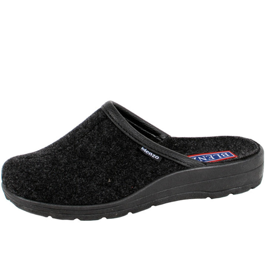7828 Zwart Pantoffels Heren