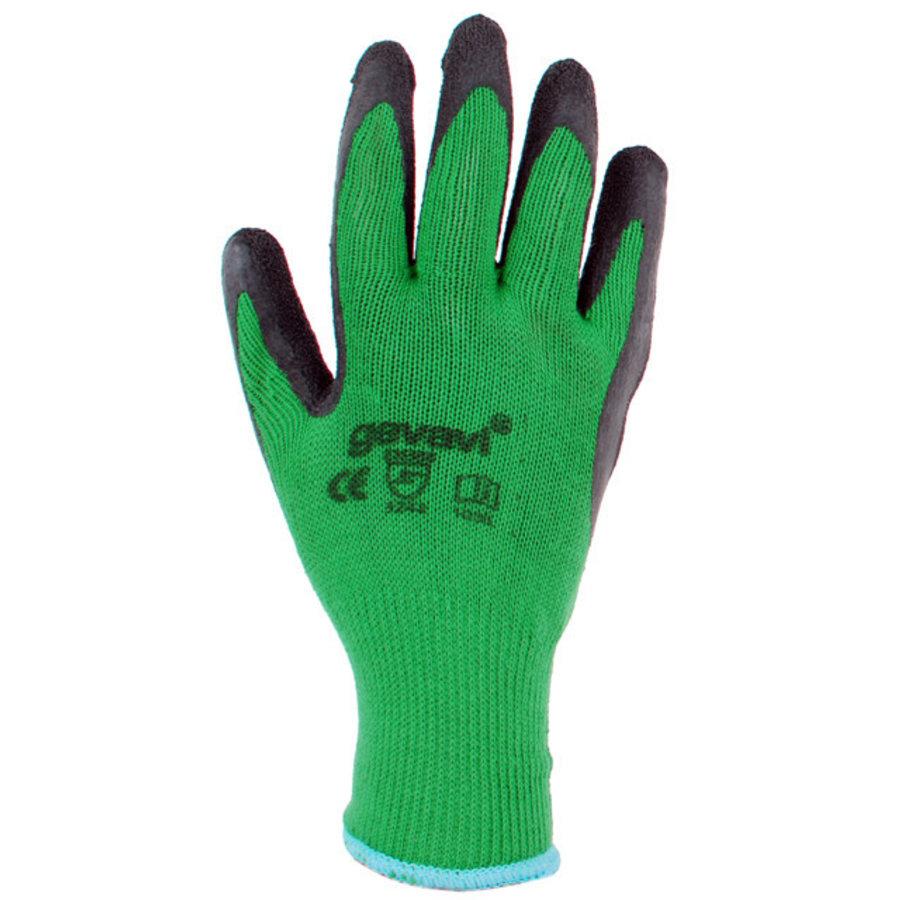 GP03 Construction Groen Handschoenen 12 Paar