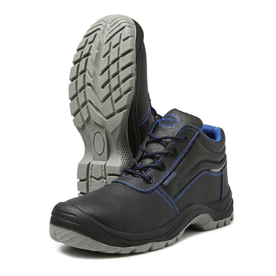 Zwart Hoog S3 - 4W16 Werkschoenen