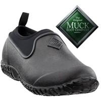 Muckster II Low Zwart Tuinklompen Heren