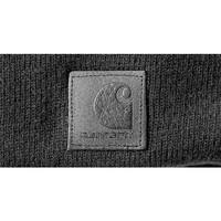 Black Label Watch Hat Zwart Muts Uniseks