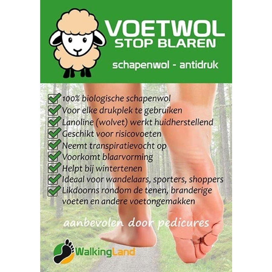 VoetWol  - Stop Blaren 40 Gram