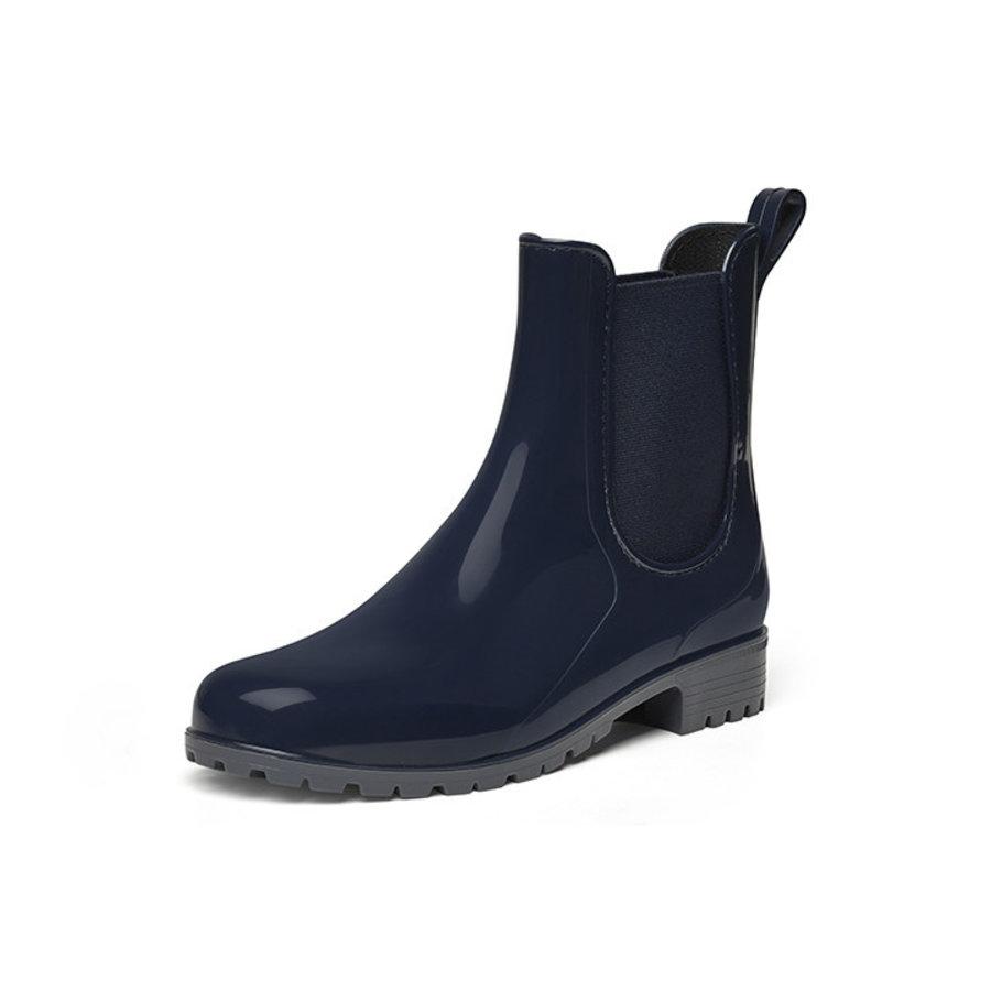 Gevavi Boots - 4300 dames enkellaars pvc blauw