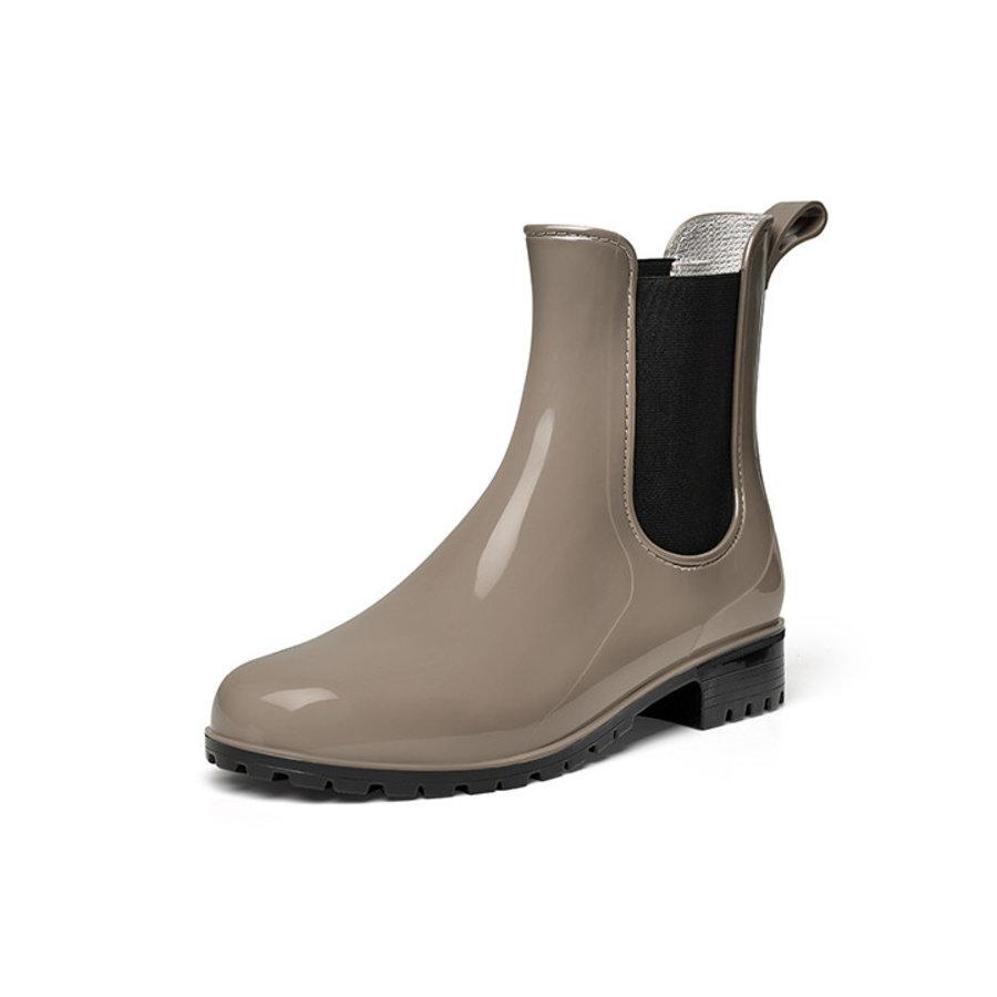 Gevavi Boots - 4300 dames enkellaars pvc taupe