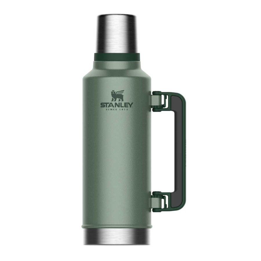 Classic Vacuum Bottle 1,4 Liter Hammertone Green Thermosfles