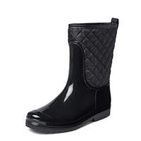 Gevavi boots - Joan gevoerde dameslaars pvc zwart