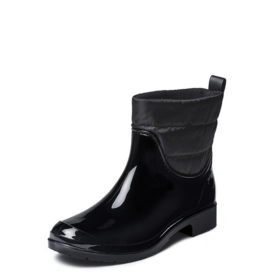 Gevavi boots - Liss gevoerde dameslaars pvc zwart