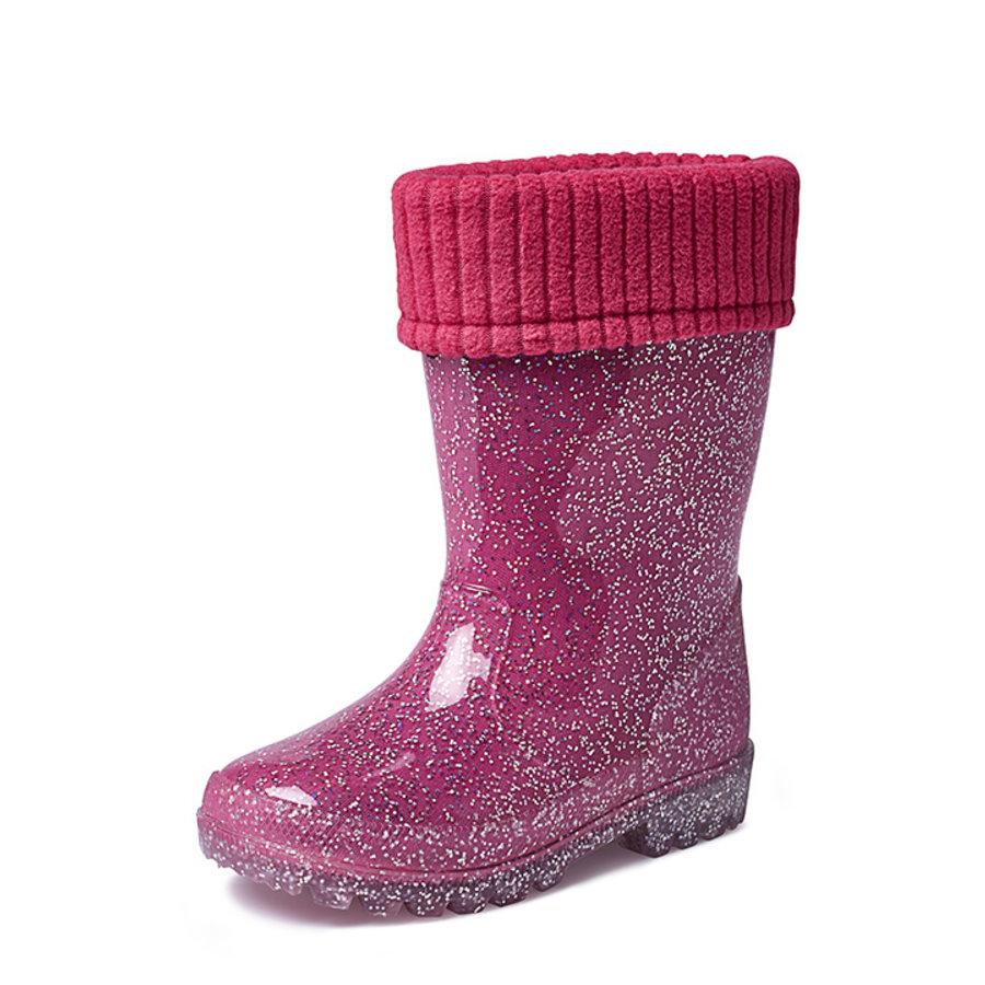Gevavi Boots - Lily gevoerd kinderlaarsje pvc roze