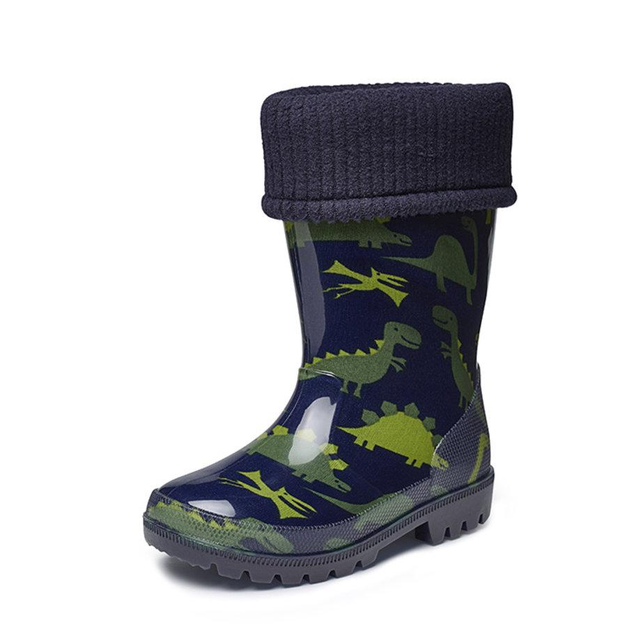 Gevavi Boots - Nick gevoerd kinderlaarsje pvc blauw