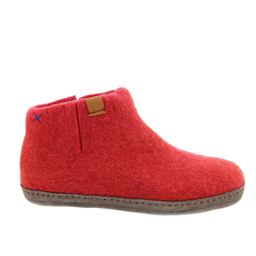 Rood Roze Pantoffels