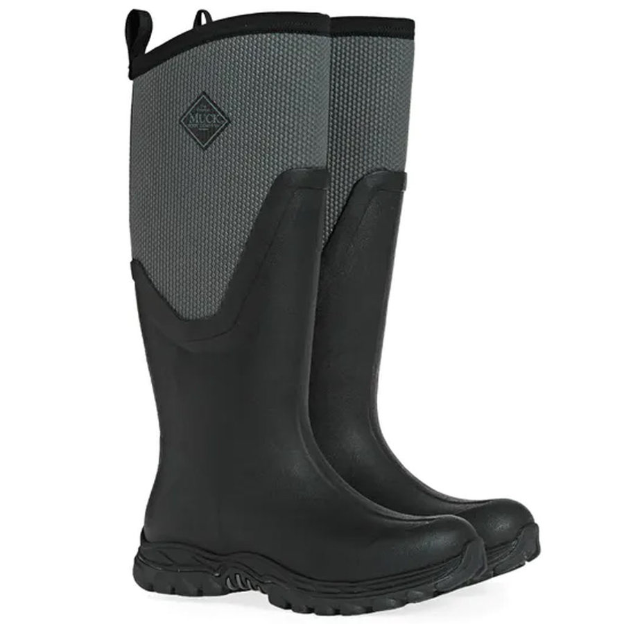 Arctic Sport II Tall Black Grey Winterlaarzen Dames