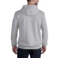 Midweight Sleeve Logo Hooded Sweatshirt Heather Grey Heren