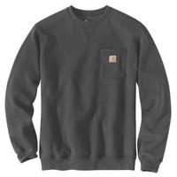 Crewneck Pocket Carbon Heather Sweatshirt Heren