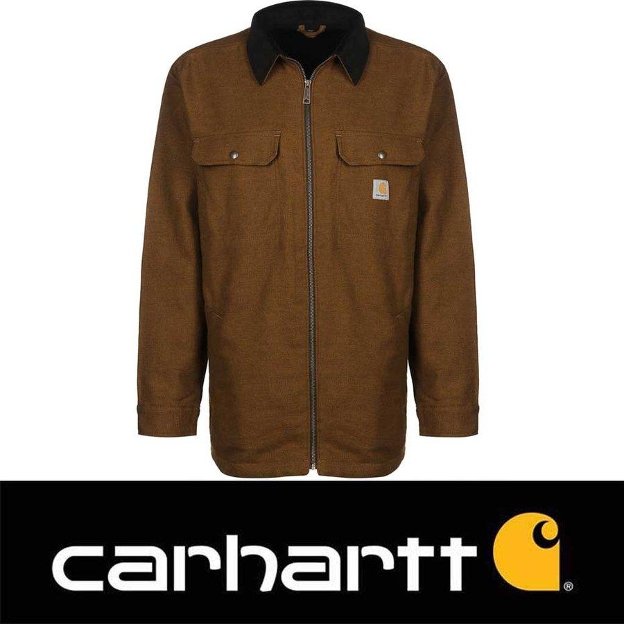 Pawnee Zip Shirt Oiled Walnut Jacket Heren