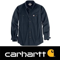 Rugged Flex Rigby LS Navy Werkshirt Heren