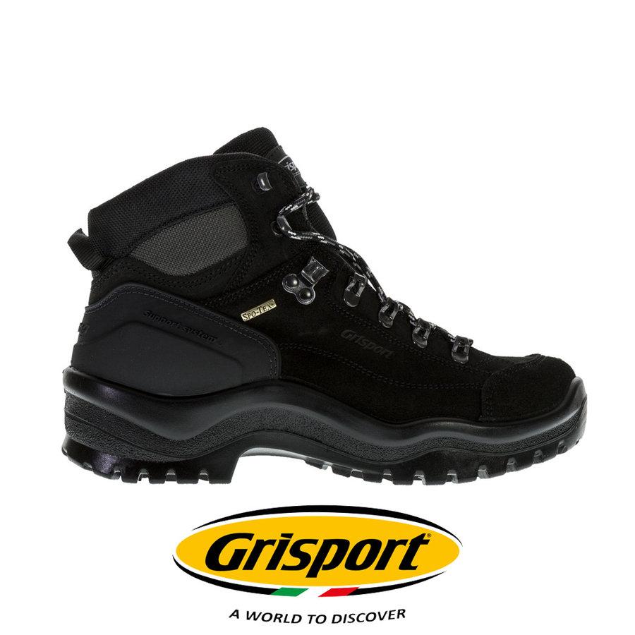 Bergen Mid Zwart Werkschoenen Onbeveiligd