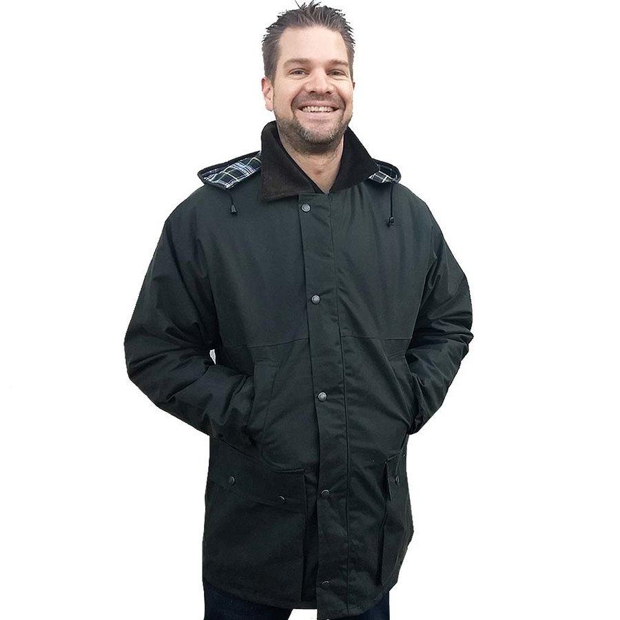 Classic Groen Winter Waxjas