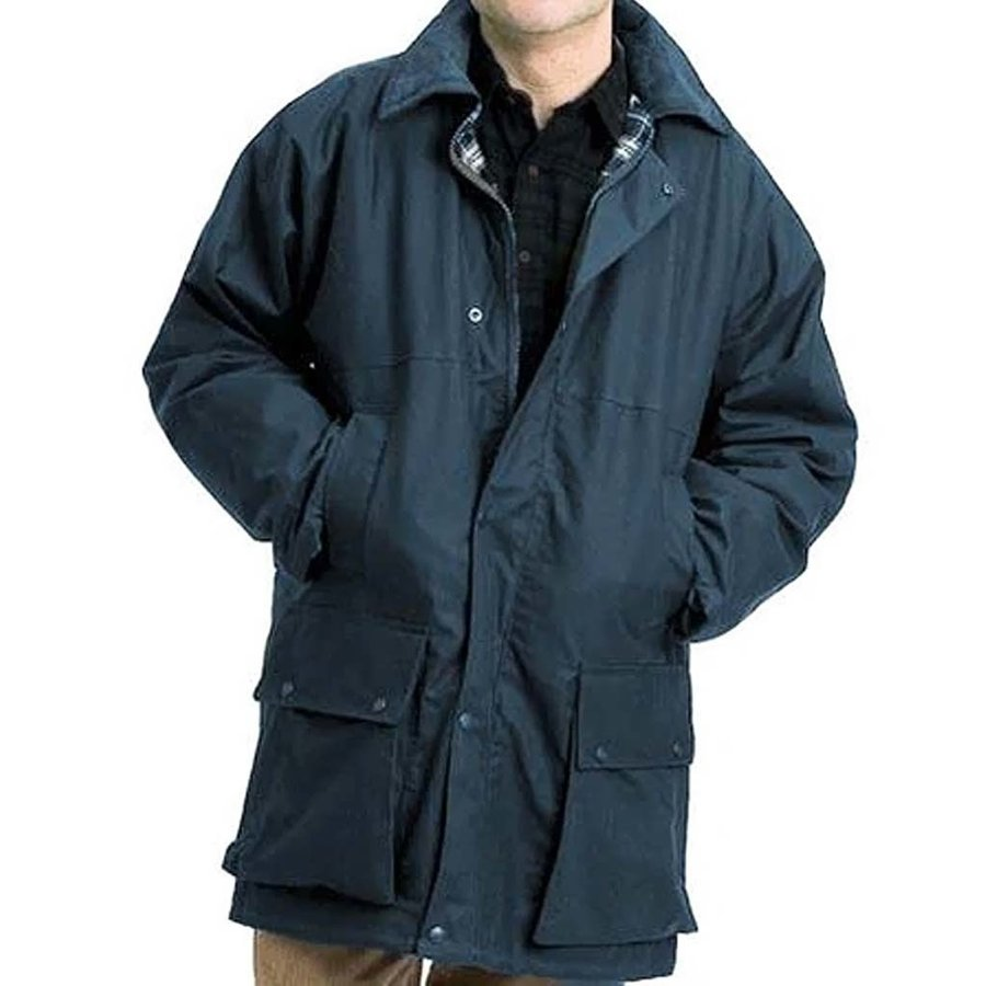 Classic Navy Winter Waxjas