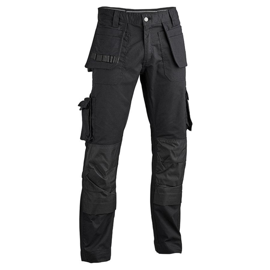 GW05 Multipocketbroek Zwart Heren