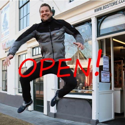 Winkel is weer open!
