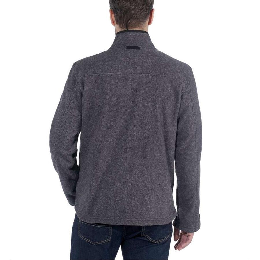 Dalton Full Zip Shadow Heather Fleece Vest Heren