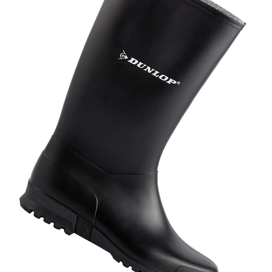 K200111 Sport Zwart Regenlaarzen Dames