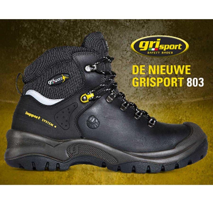 803 S3 Zwart Werkschoenen Heren