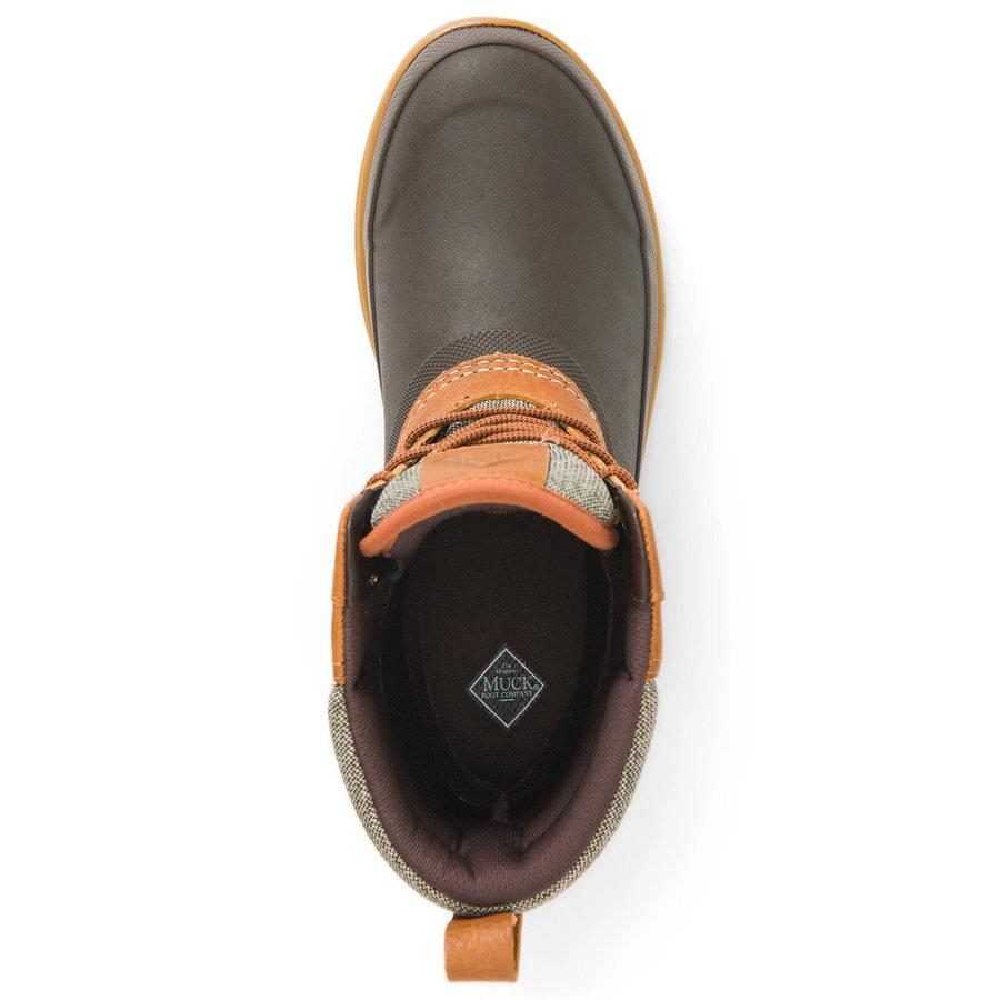 Original Duck Lace Brown Leather Laarzen Dames