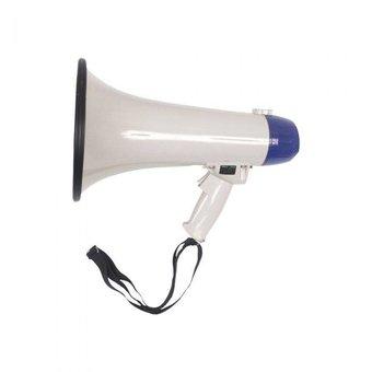 Compacte megafoon 20 Watt met sirene