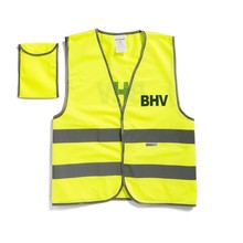BHV veiligheidsvestje in tasje bedrukt