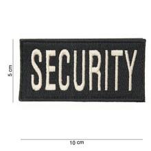 Embleem SECURITY met klittenband