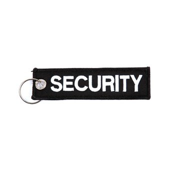 Sleutelhanger SECURITY 100% nylon
