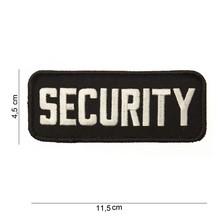Embleem SECURITY dun