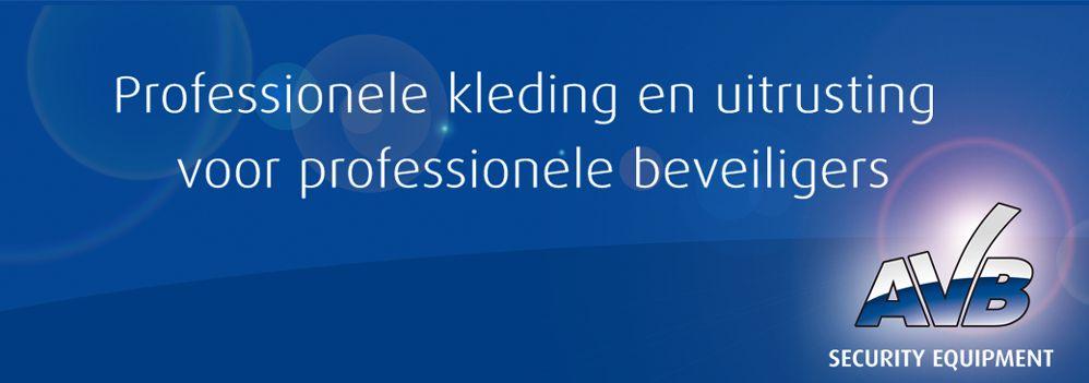 Nieuwe webwinkel AVB Security online!