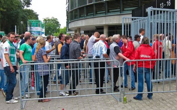 Terreurbestrijding stadions nog in kinderschoenen