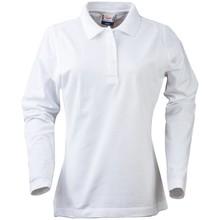 PRINTER Polo shirt lange mouwen dames