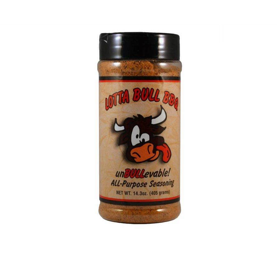 Lotta Bull BBQ UnBULLevable All Purpose Seasoning 14.3oz