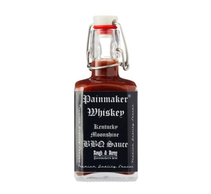 Painmaker Whisky Kentucky Moonshine BBQ Sauce