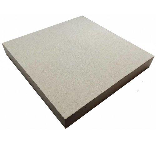 Pizzasteen 30x30x3cm 1200c