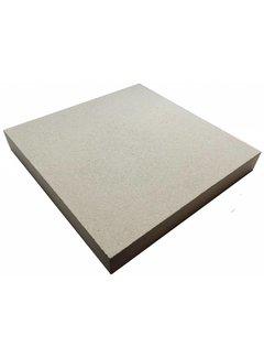 Pizzasteen 40x40x3cm 1200c