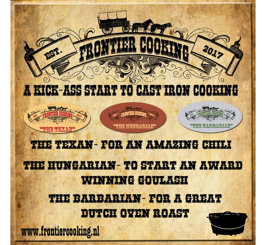 Frontier Cooking The Texan