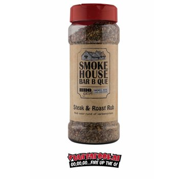 BBQ Guru.NL BBQ Guru.NL / Smoke House BBQ Steak & Roast Rub 300 grams