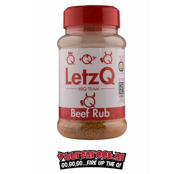 LetzQ LetzQ Award Winning 180 Beef/Brisket Rub 350 grams